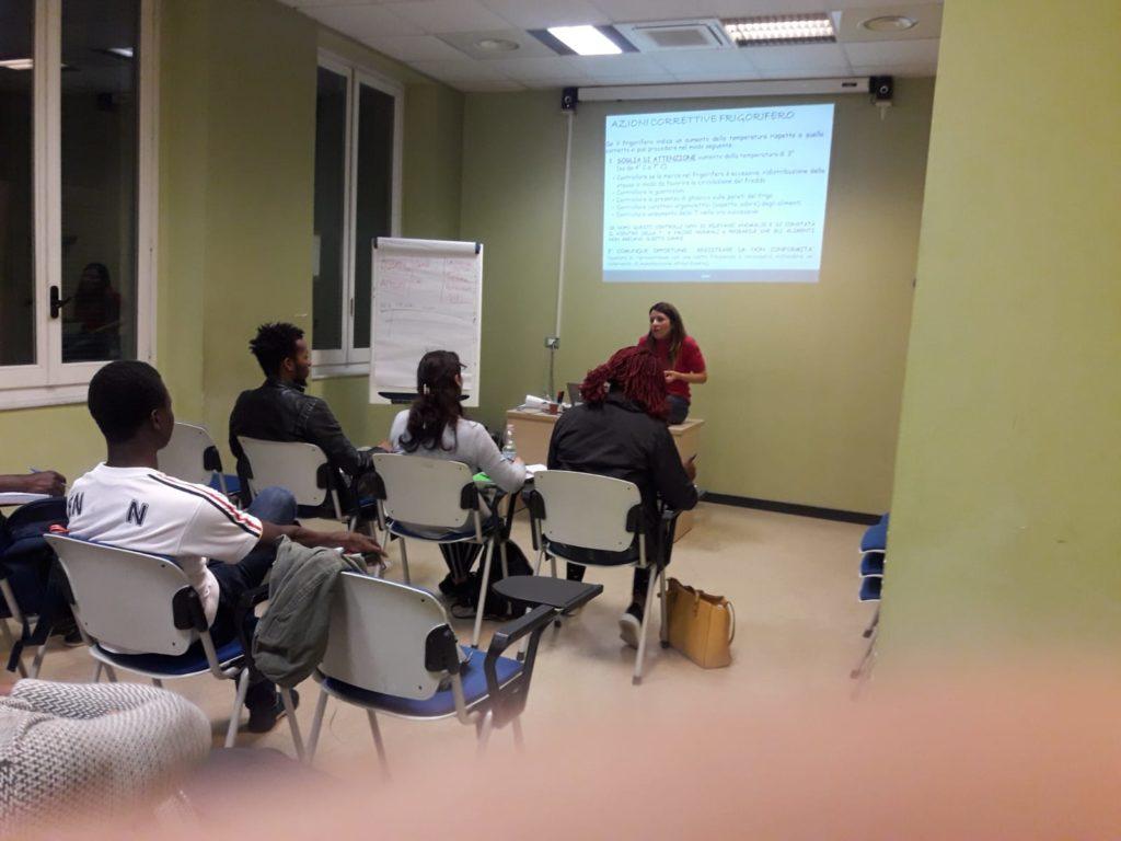 Lezione del corso HACCP