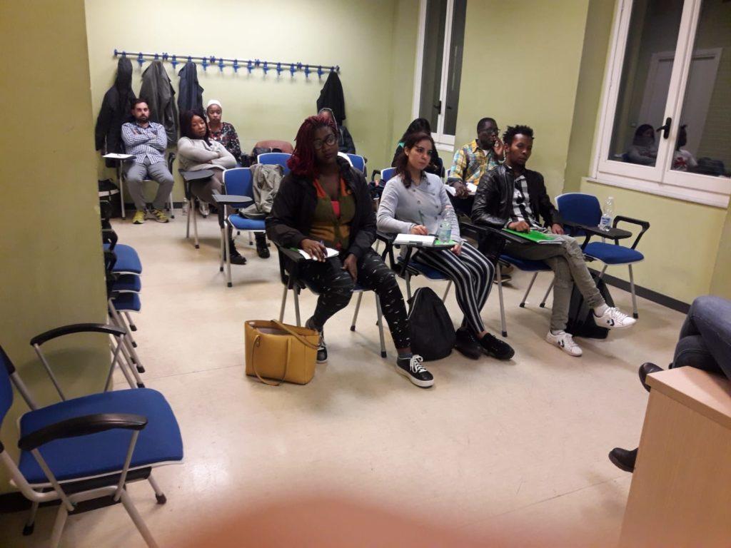 Gli studenti al corso HACCP