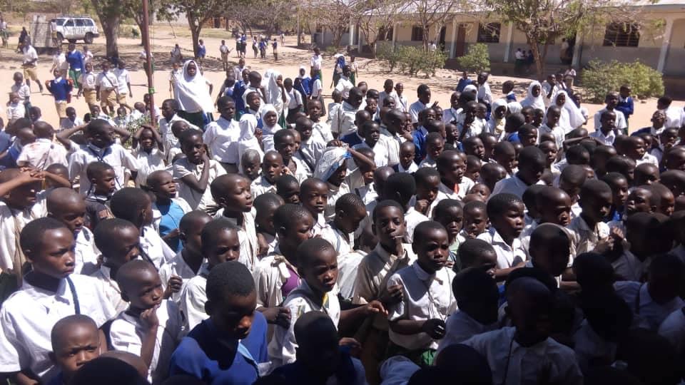 Bambini della scuola di Kipalapala in Tanzania