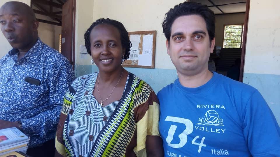 Volontari in Tanzania